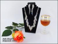 Komplet biżuterii wieczorowej Salon Ślubny Bella Margo.
